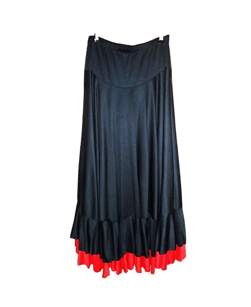 a19e6ac55 FALDA 2 VOLANTES - Victoria - Moda Flamenca