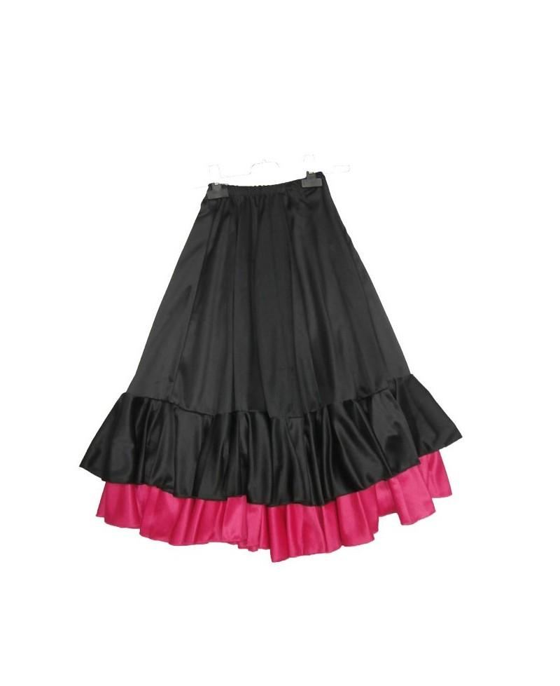 d79eb8cb3 FALDA NIÑA 2VOLANTES - Victoria - Moda Flamenca